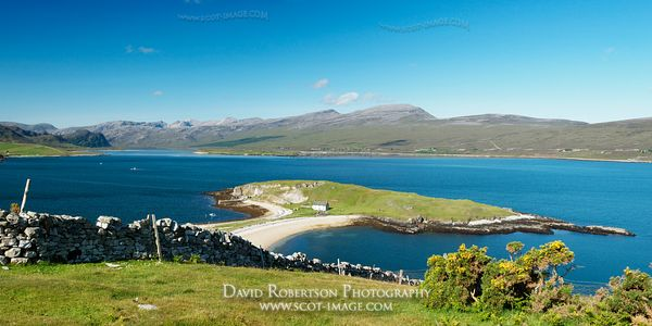 Image - Tombolo, Loch Eriboll, Sutherland, Panoramic