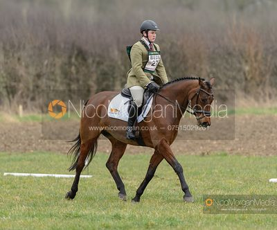 JAMES SOMMERVILLE and GABBANA. Oasby (1) Horse Trials 2020