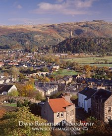 Image - View from Stirling Castle Esplanade, Scotland