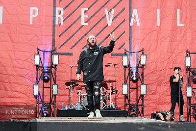 I Prevail at the Download Festival, Donington Park, Castle Donington, United Kingdom - 16 Jun 2019
