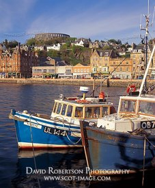 Image - Oban harbour fishing boats, Argyll, Scotland