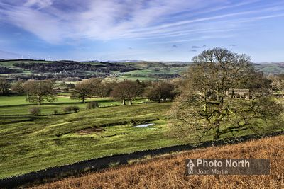 BARBON 12A - Lune Valley from Barbon Terrace