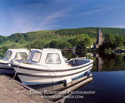 Image - Ferry Boats, Lake of Menteith, Port of Menteith, Scotland