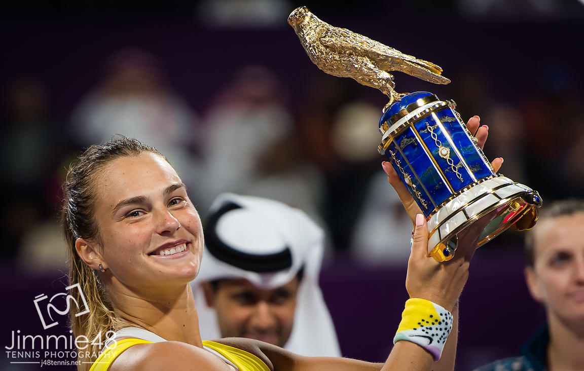 2020 Qatar Total Open, Tennis, Doha, Qatar, Feb 29