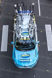 Technical Car of Team Delko-Marseille Provence - Paris-Tours 2019