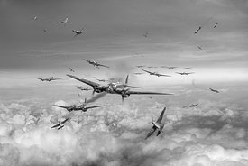 Battle of Britain Day black and white version