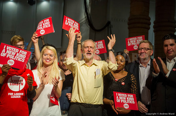 JEREMY CORBYN ELECTION RALLY, SEPTEMBER 2015