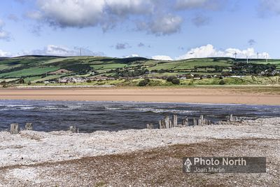 ASKAM IN FURNESS 10A - Askam from Askam Pier