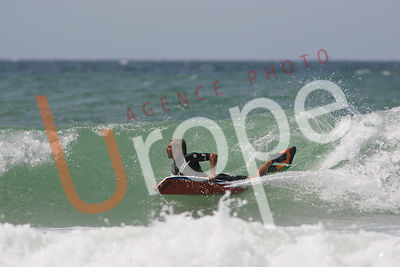 Photo de bodyboard avec figurants