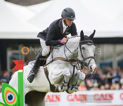 Andrew Nicholson and AS IS, Equitrek Bramham Horse Trials 2019