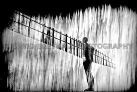 The Angel of the North (mono)
