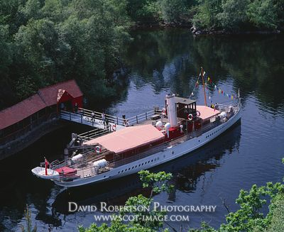 Image - SS Sir Walter Scott steam ship, Loch Katrine