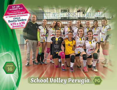 28 dicembre 2019. Foto: per VolleyFoto.it [riferimento file: 2019-12-28/U16-SchoolVolleyPG]