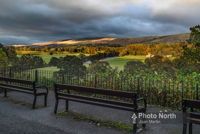 KIRKBY LONSDALE 09D - Evening light, Ruskin's View