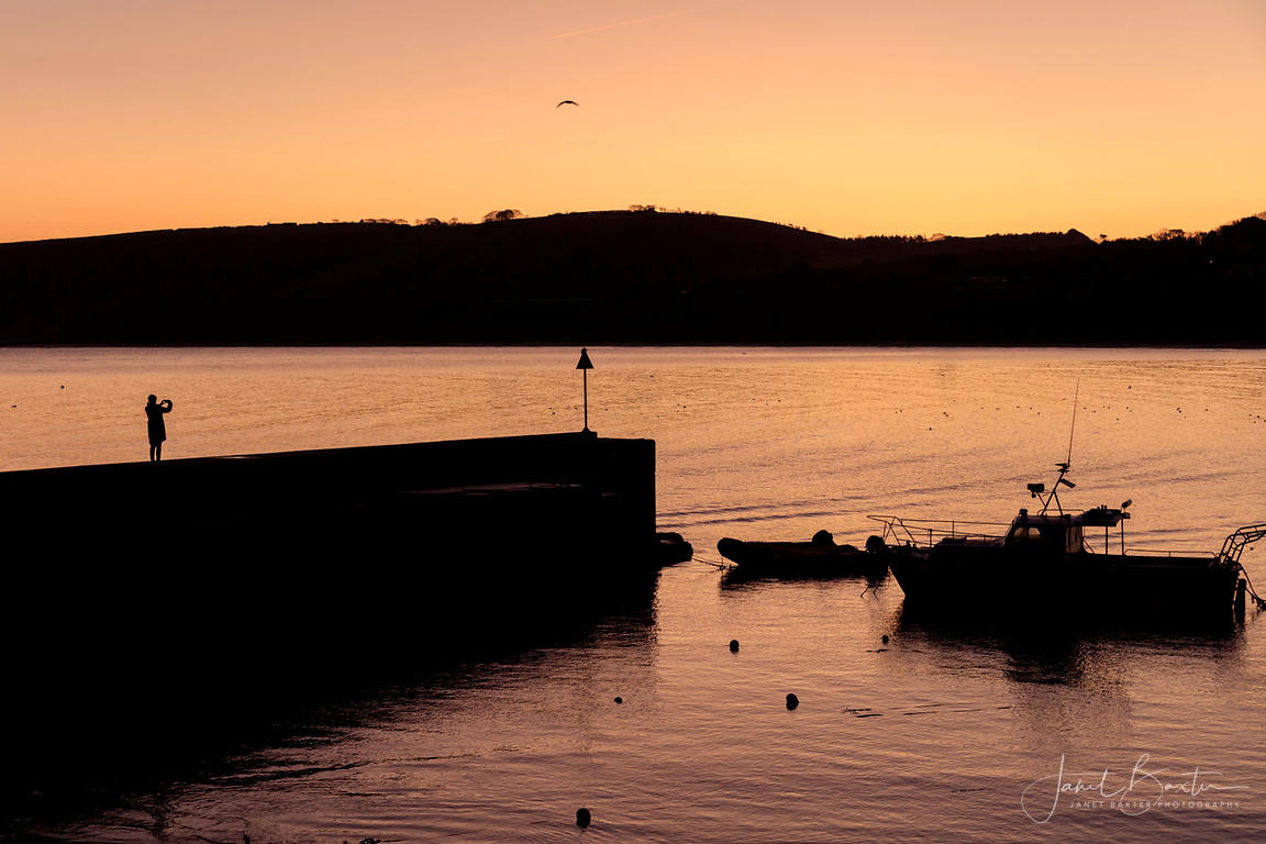 Sunrise, New Quay