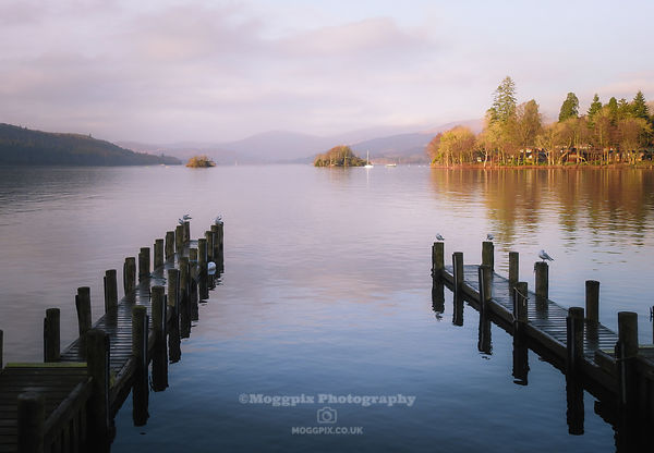 Piers at Lake Windermere