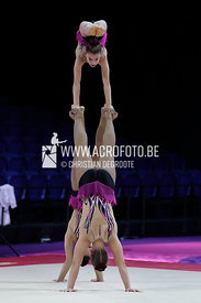 ANGELOPOULOU - PAPAGIANNOPOULOU - STEFANIDOU (GRE) / 12-18 WG  Balance.