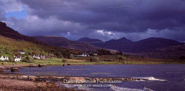 Image - Torridon Village Panoramic, Scotland