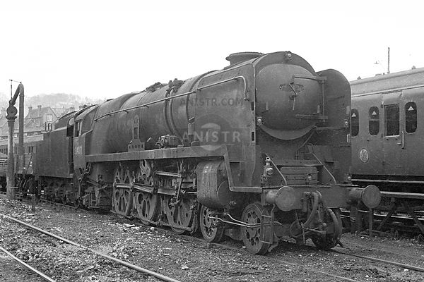 Steam loco BB 34071 Guildford