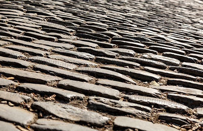 Flandres Cobblestone Road - Detail