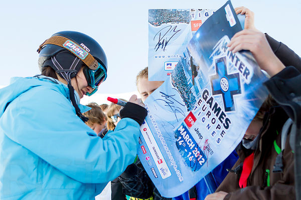 March 16th, 2012 - Tignes, France : Snowboard Slopestyle Women's Final