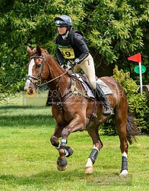 Piggy French and COOLEY LANCER - Upton House Horse Trials 2019.