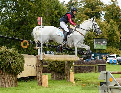 Kirsty Short and COSSAN LAD - Cross Country - Land Rover Burghley Horse Trials 2019