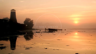 Langstone Mill at Dawn