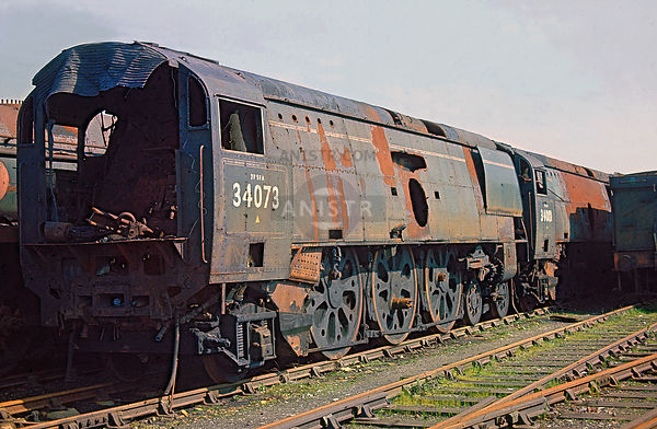 Steam loco BB 34073 Barry