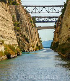Corinth Canal Bungee Jumper.