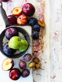 Plums by Court