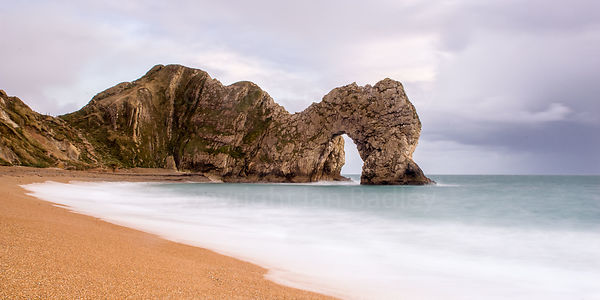 Durdle Door, long exposure.