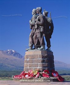 Image - Commando Memorial at Spean Bridge, Scotland