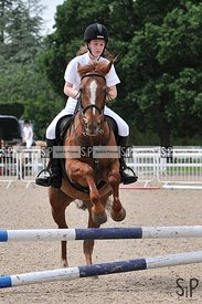 Unaffiliated showjumping. Brook Farm Training Centre. Essex. 02/06/2019. ~ MANDATORY Credit Ellen Szalai/Sportinpictures - NO...
