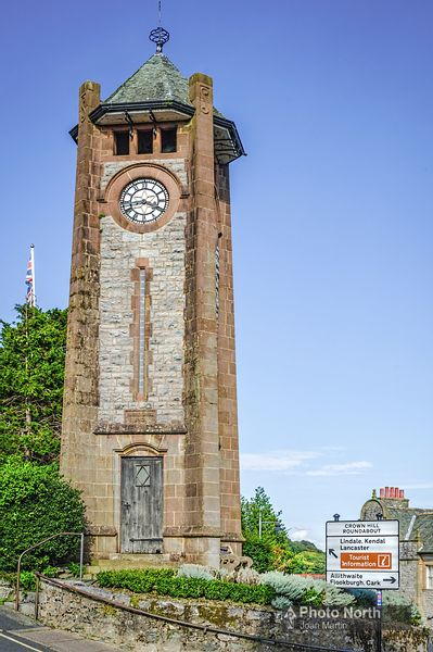 GRANGE OVER SANDS 29A - The Clock Tower
