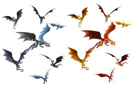 Flock of Dragons, Two Colors