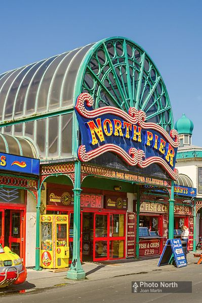 BLACKPOOL 12B - Entrance to North Pier
