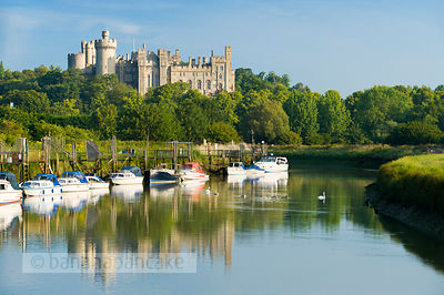 Arundel Castle from the River Arun - BP2526
