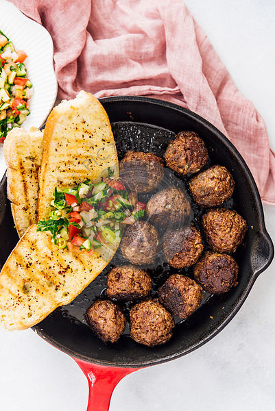 Turkish Kofta Meatballs