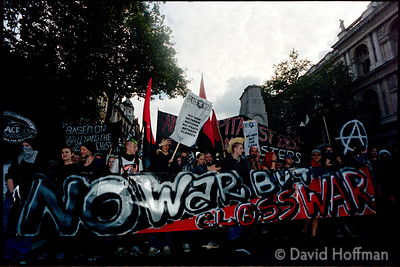 Don't Attack Iraq..Demonstration on Iraq and Palestine in London Saturday, 28 September 2002, from 13:00: assemble at Embank...
