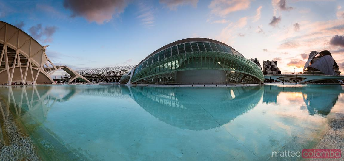 The Hemispheric panoramic, Valencia, Spain