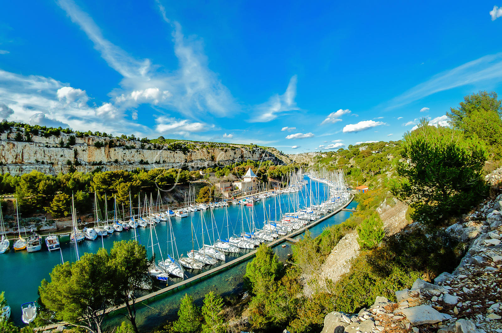 Port Miou, Cassis, France