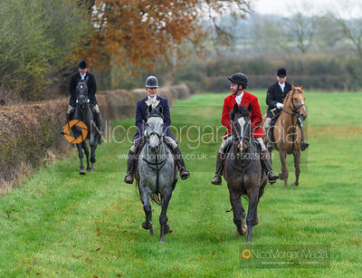 Beanie Sturgis, Tom Kingston at Hose Thorns - The Belvoir Hunt at Hose 27/11