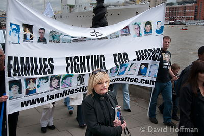 """Families Fighting For Justice"", a group made up of people who have lost loved ones through acts of violence"