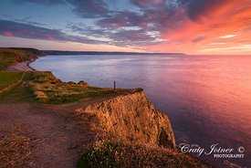 Cornborough Cliff Sunset, North Devon
