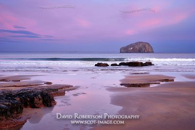 Image - The Bass Rock from Seacliff Beach, North Berwick, East Lothian, Scotland.
