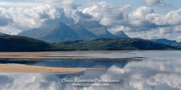 Image - Ben Loyal and the Kyle of Tongue, Sutherland, Panorama