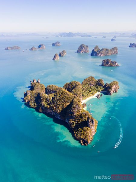 Aerial view of Hong island, Thailand