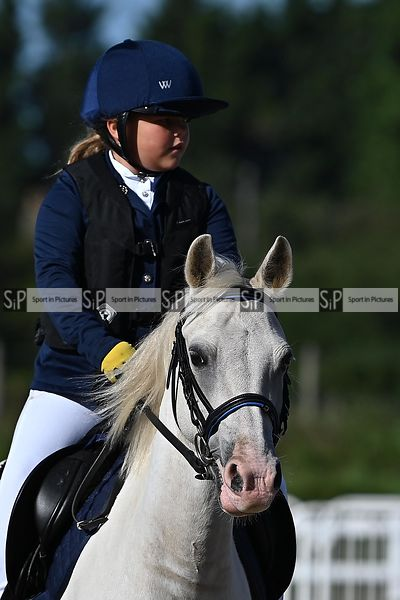 Stapleford Abbotts. United Kingdom. 30 August 2020. Unaffiliated showjumping. MANDATORY Credit Garry Bowden/Sport in Pictures...
