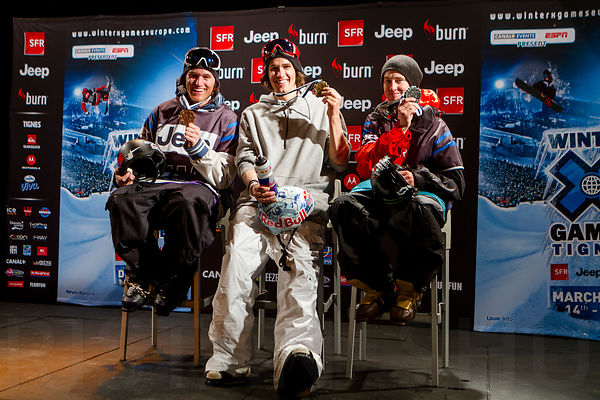 March 15th, 2012 - Tignes, France : Ski Slopestyle Men's Final Pressconf